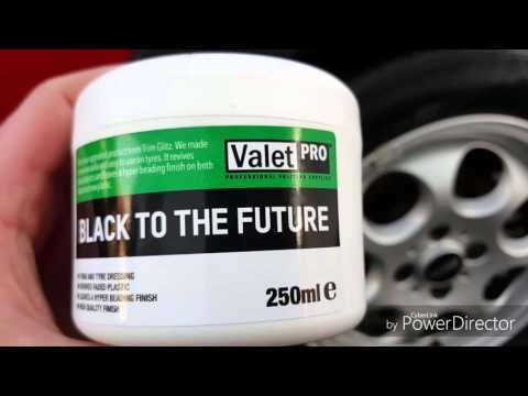 Valet Pro Black To The Future - Trim & Tyre Application