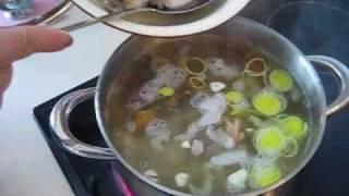Рыбный Финский суп