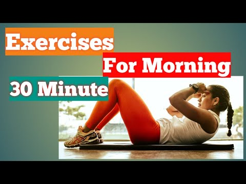 Exercises for morning 30 Minute to Lose Weight 2020 in Hindi/ एक्सरसाइजेज फॉर मॉर्निंग टू लूज़ वेट