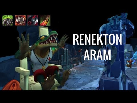 DID SOMEONE SAY DAMAGE AND TANK?! Renekton - ARAM - League Of Legends