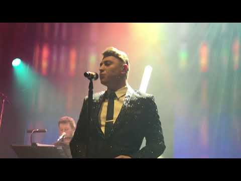 Collabro singing frankie valli medley collabro Home tour Sheffield 1122017