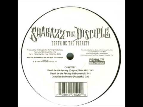 Shabazz The Disciple - Death Be The Penalty - 12