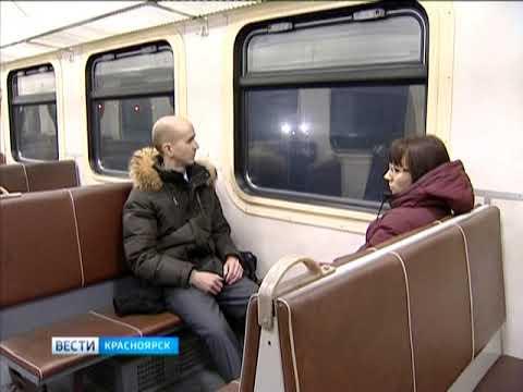 Красноярские электрички изменят расписание на новогодние праздники