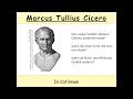 Cicero, In Catilinam 1,3 - Übersetzung (Latein) - historische Beispiele #4