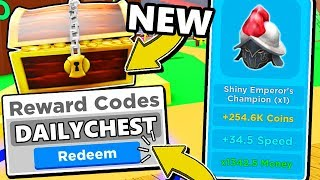 SECRET REWARD CHEST UPDATE CODES IN MAGNET SIMULATOR UPDATE 18! Roblox