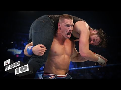 Thumbnail: Rapid-Fire Finishing Moves - WWE Top 10, Oct. 10, 2016