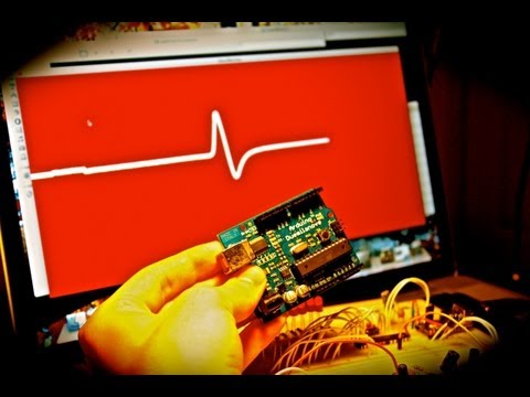 HowTo: Heart Beat Monitoring!  Arduino/Processing