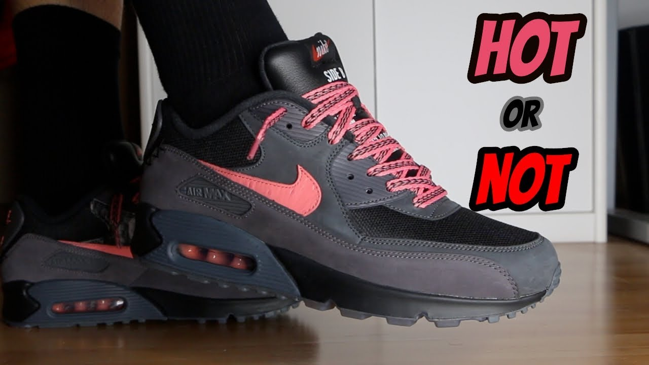 Nike Air Max 90 Side B REVIEWON FEET by Sari Qasem