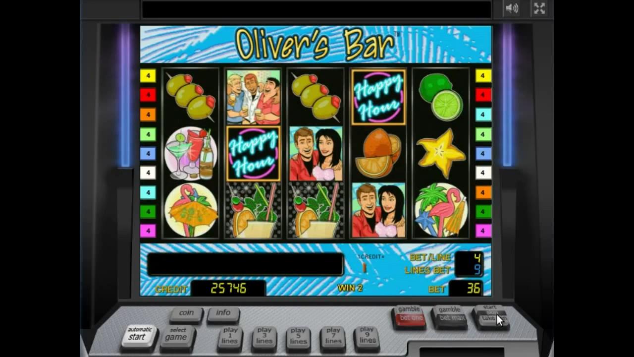 играть бесплатно оливер онлайн бар автоматы игровые