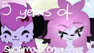 5 years of animation (flash warning ;__;)
