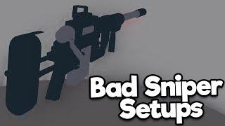 Bad Phantom Forces Setups: Sniper Edition (Roblox)