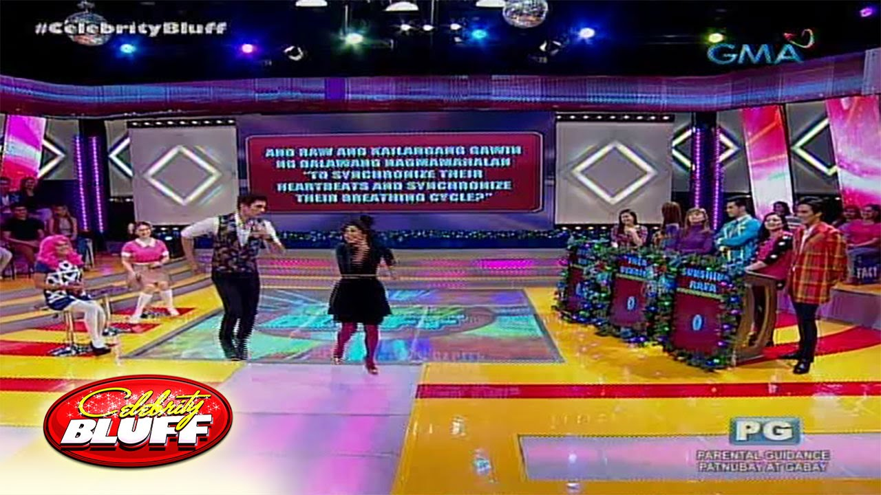 Celebrity Bluff: Two hearts beat as one