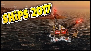 Ships 2017 - Lighthouse Building & Fire On The Open Seas! [Let's Play Ships 2017 Gameplay]