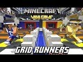 New Minigame: Gridrunners  1v1's (Minecraft PE / Xbox)