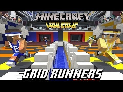 New Minigame: Gridrunners  1v1's (Minecraft PE / Xbox) thumbnail