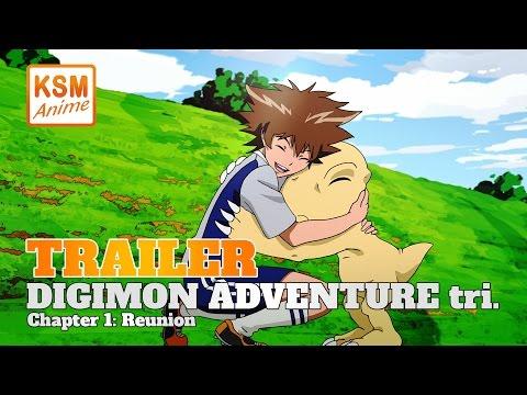 DIGIMON ADVENTURE tri. Chapter 1: Reunion (Deutscher Trailer)