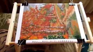 видео как сделать станок для вышивания