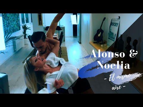 LIRICS/ Alonso y Noelia - El Mismo Aire