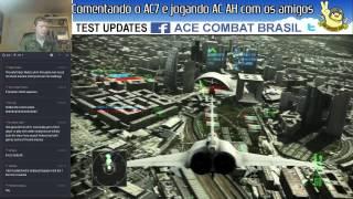 Comentando o Ace Combat 7 e jogando AC AH