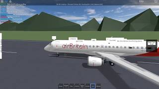 ROBLOX air Grande-Bretagne! Vol Embraer 175!