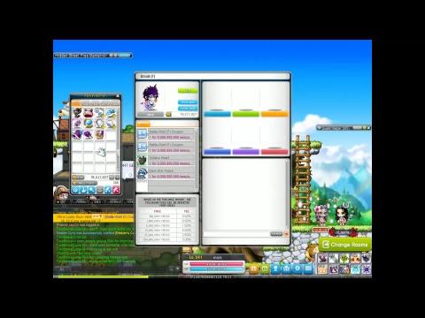 Maplestory GMS, Luna server, Gacha/NX opening