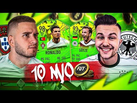 FIFA 21: 10 MIO DEUTSCHLAND VS PORTUGAL SQUAD BUILDER BATTLE 😱🔥