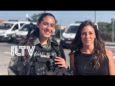 Female Fighters Filling The Ranks Of Israeli Border Police Troops