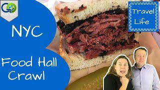 NYC Food Hall Crawl (We Ate at 10 of Them!)