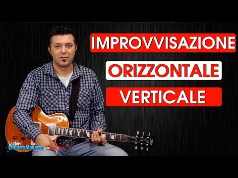 Improvvisazione Orizzontale & Verticale - Sempre Le Note Giuste - Metodo di Chitarra Blues