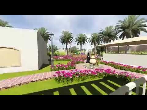 افكار جذابه لتنسيق حدائق المنزل