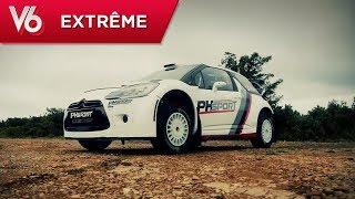 Margot prend les commandes de la Citroën DS3 WRC - Les essais extrêmes de V6