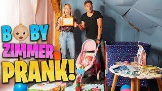 Babyzimmer PRANK !
