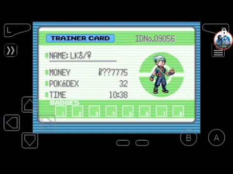 Cheat code Infinite Money, Super Mega Pokemon Emerald