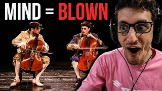 Обложка This Caught Me OFF GUARD 2 CELLOS Thunderstruck ACDC Cover REACTION