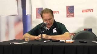 Tom Izzo breaks down Michigan State