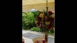 Mount Edgecumbe Marquee wedding with Candelabra