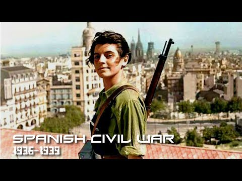 Spanish Civil War (1936 - 1939) I HD I 2017