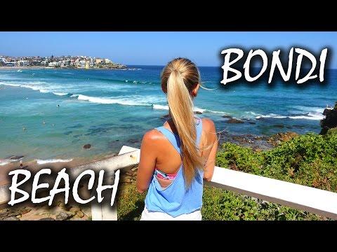 Bondi Beach Sydney - Bondi to Coogee Beach Walk - Australien | VLOG #67