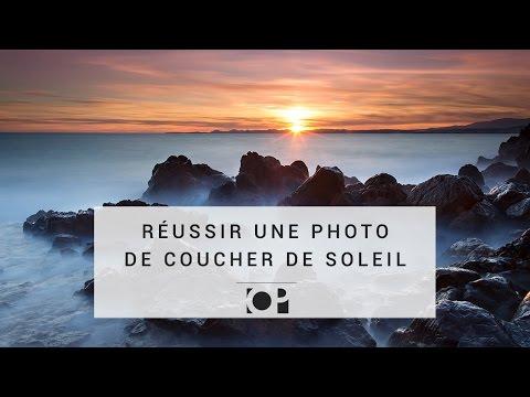 Cours Photo - Réussir un coucher de soleil