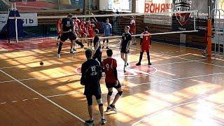 Волейбол. Нападающий удар. Студенческая лига России. Братск - Махачкала