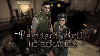 Resident Evil HD Remaster ★★★★★ Horror Game 1080p Video Walkthrough Longplay No Commentary
