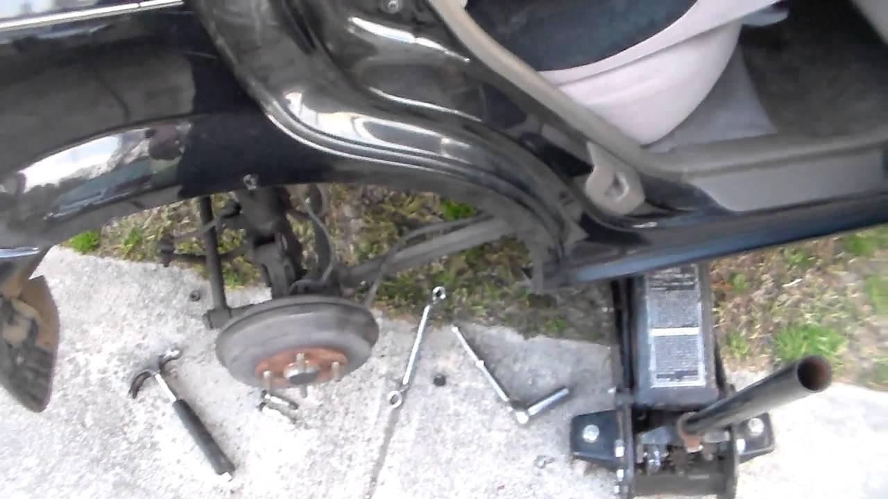 medium resolution of quick mazda protege rear strut removal video