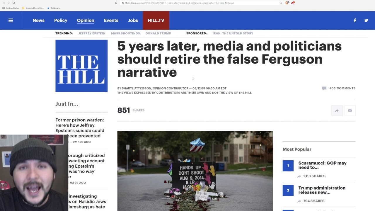 Democrats Called Out For Lying About Michael Brown And Ferguson