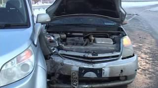 Женская логика владелицы авто привела к столкновению машин