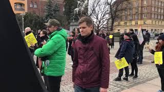Prezydent Szczecina na jednej manifie z Federacją Anarchistyczną i proaborcjonistkami!