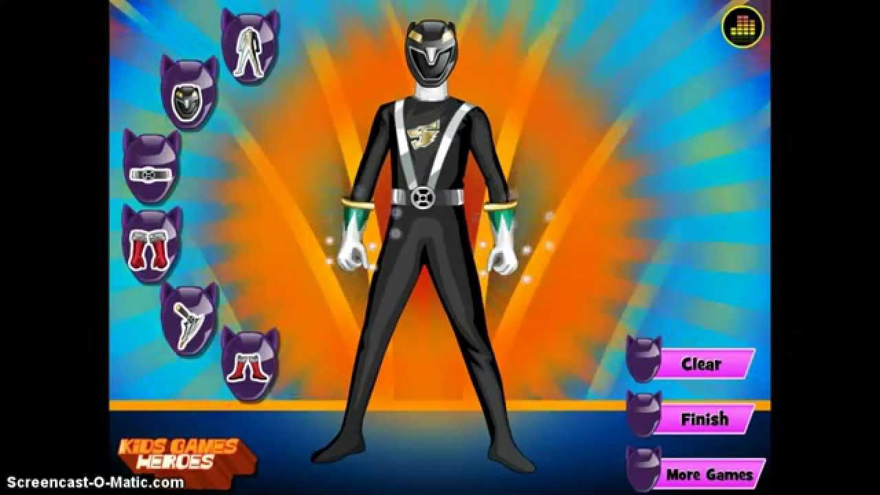 Power Rangers Dress Up Games Online