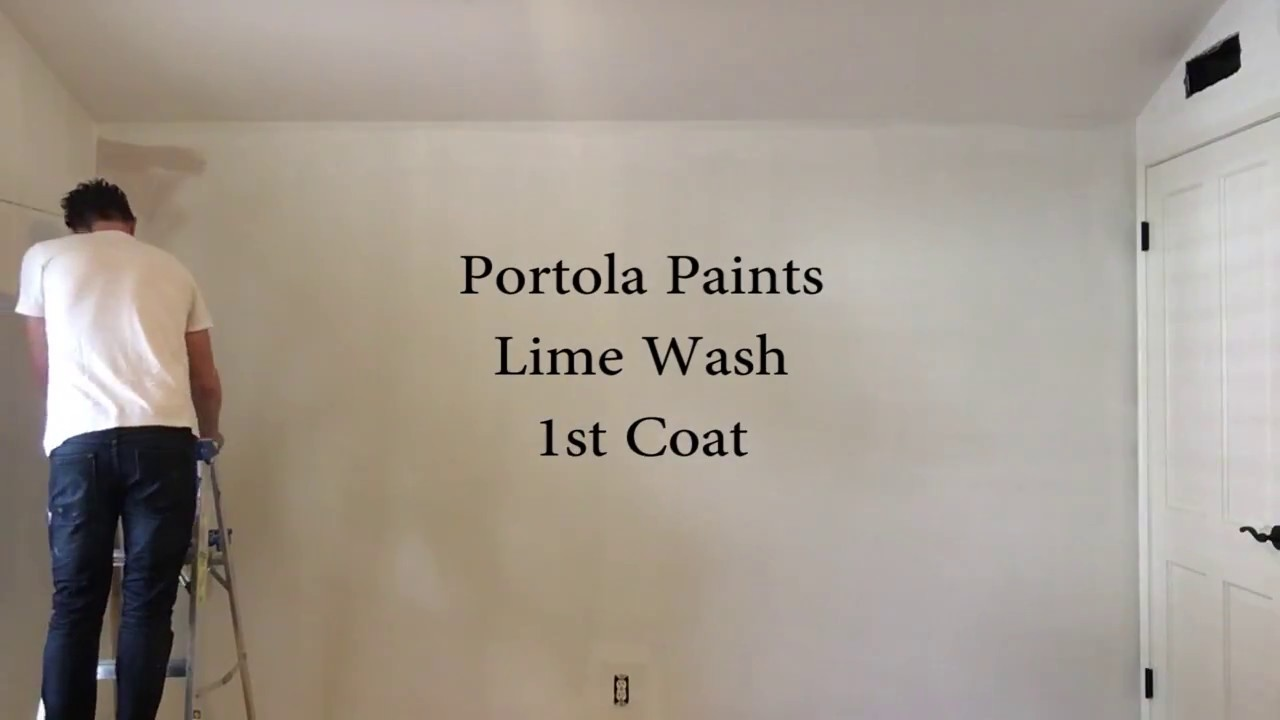 Portola Paints Lime Wash Time Lapse Youtube