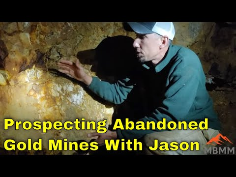 Prospecting & Mining Gold From Abandoned Gold Mines!!