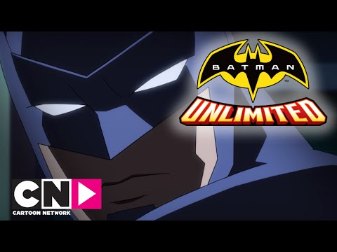 Batman Unlimited | Bank Rån Går Fel | Svenska Cartoon Networ