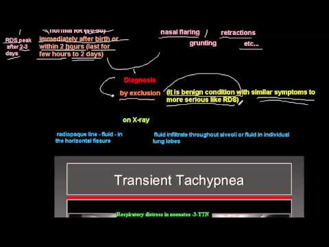 respiratory distress in neonates -3- (TTN)
